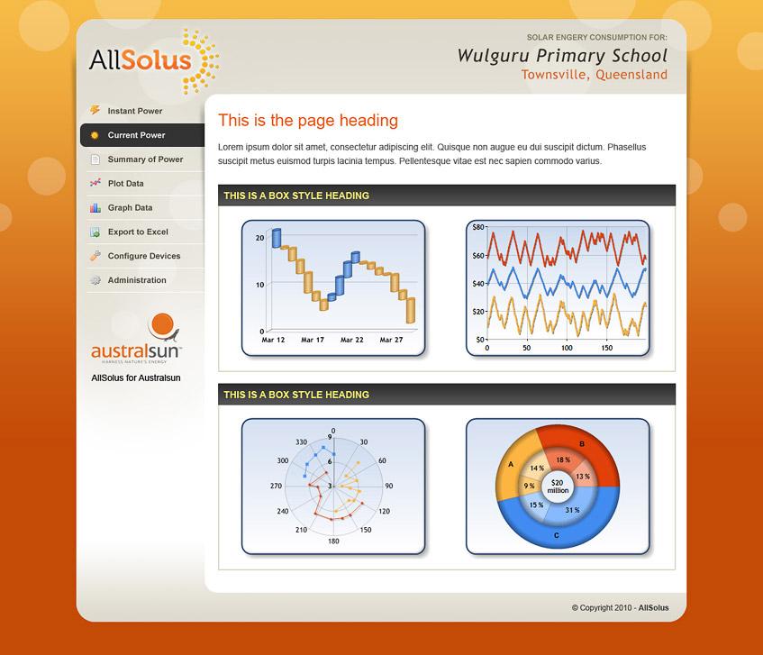 Web App Design - AllSolus
