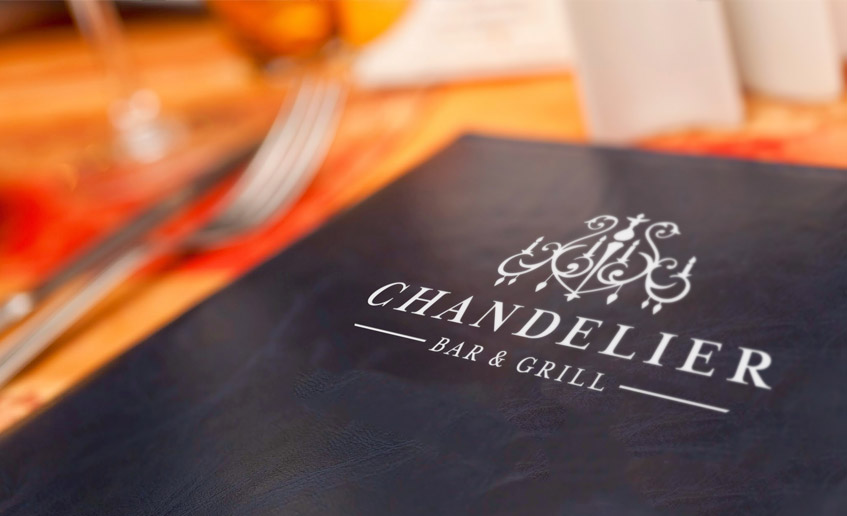 Chandelier Bar & Grill Logo