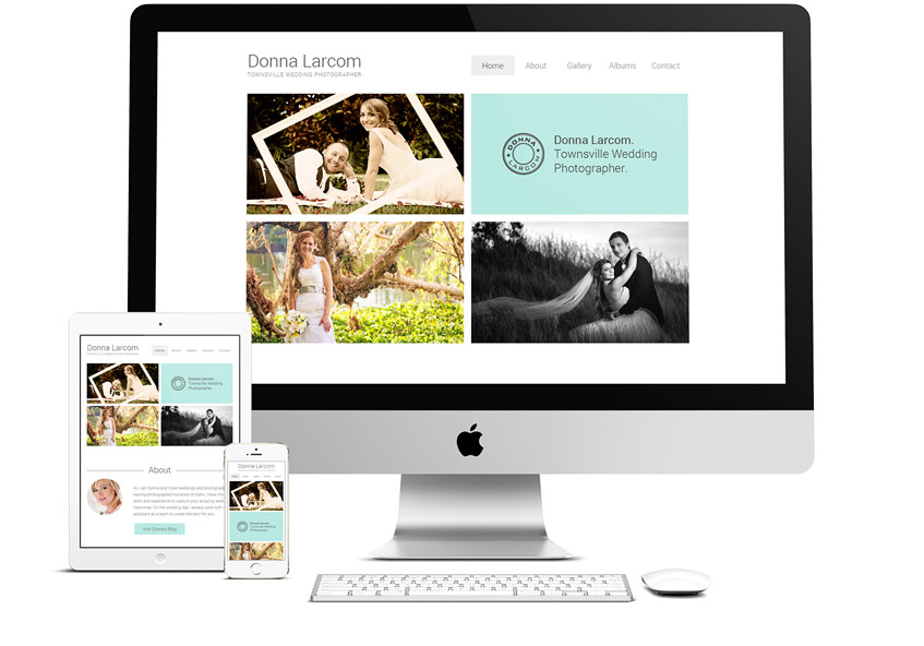 Donna Larcom Photography Responsive Website Design