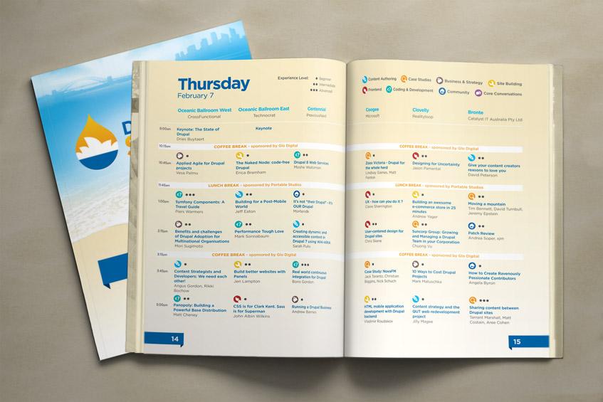 Drupalcon Sydney Program Guide