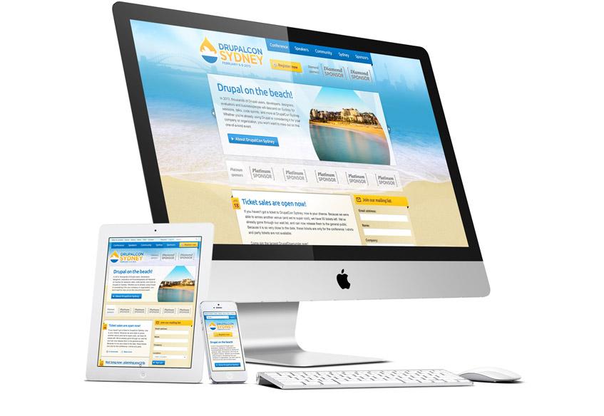 Drupalcon Sydney Web Design