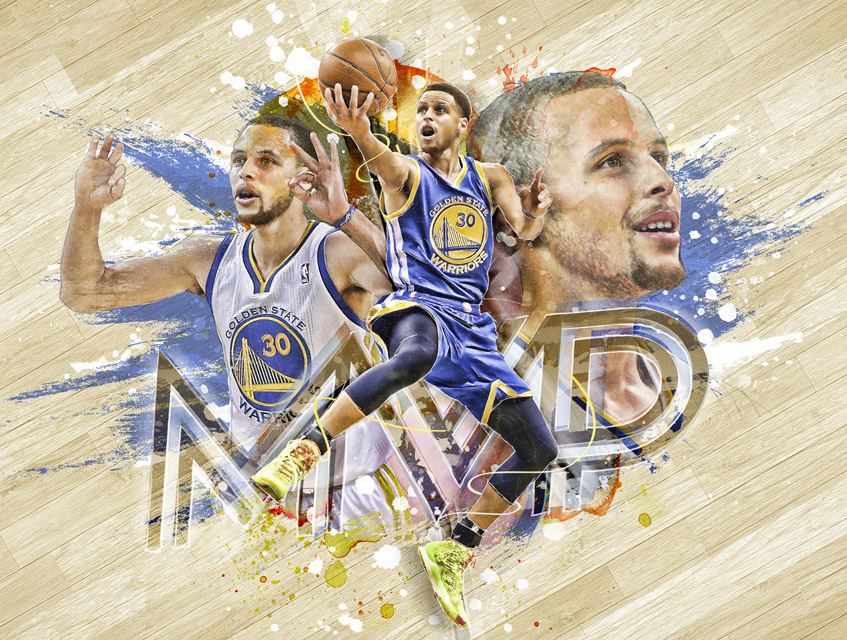 nba 2015 mvp design steph curry