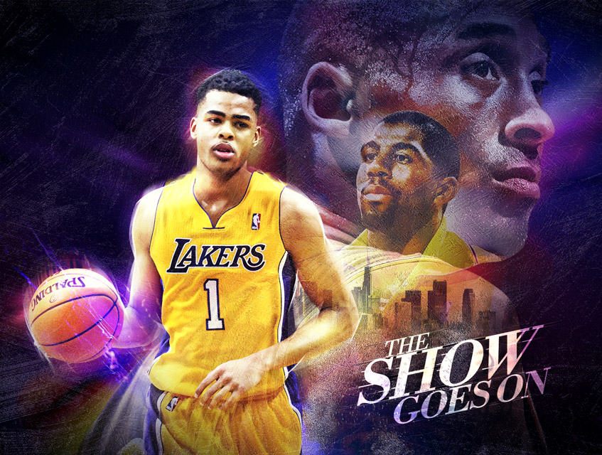 nba-art-lakers-dangelo-russell