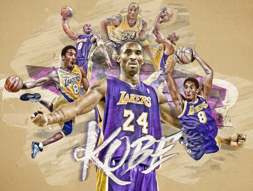 nba kobe bryant design