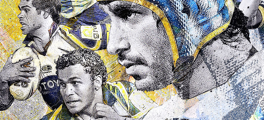 North Queensland Cowboys 20 Years Artwork - Details