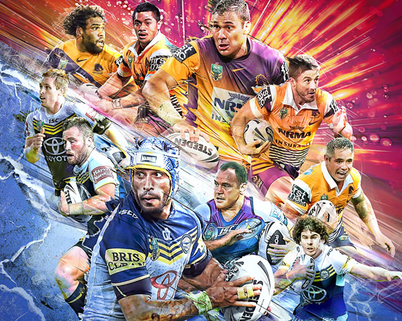 NRL Digital Artwork