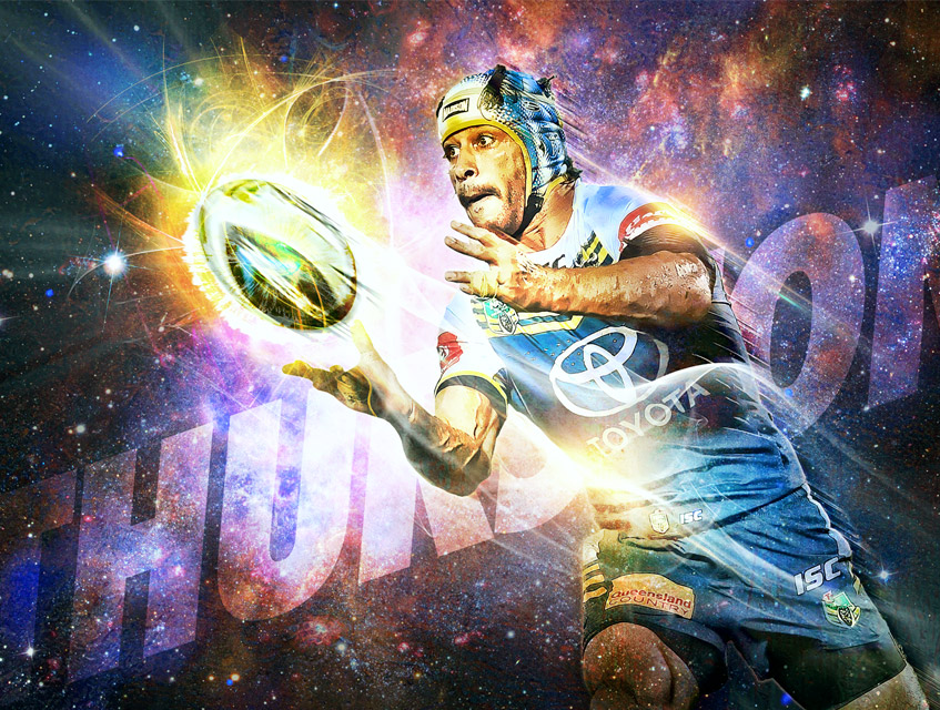 nrl johnathan thurston artwork