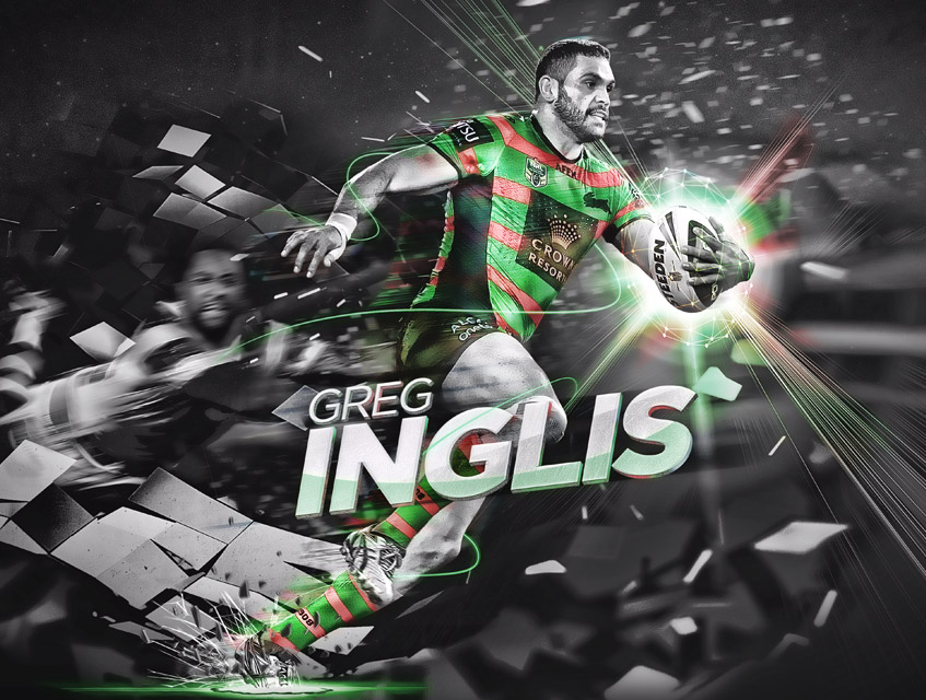 nrl social media design greg inglis