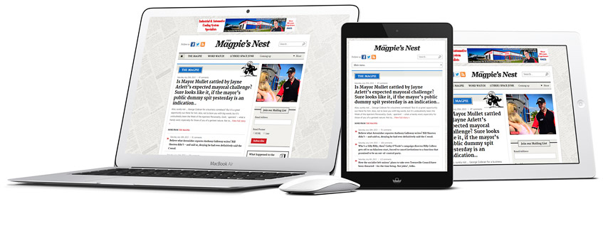 Townsville Magpie Responsive Website Design