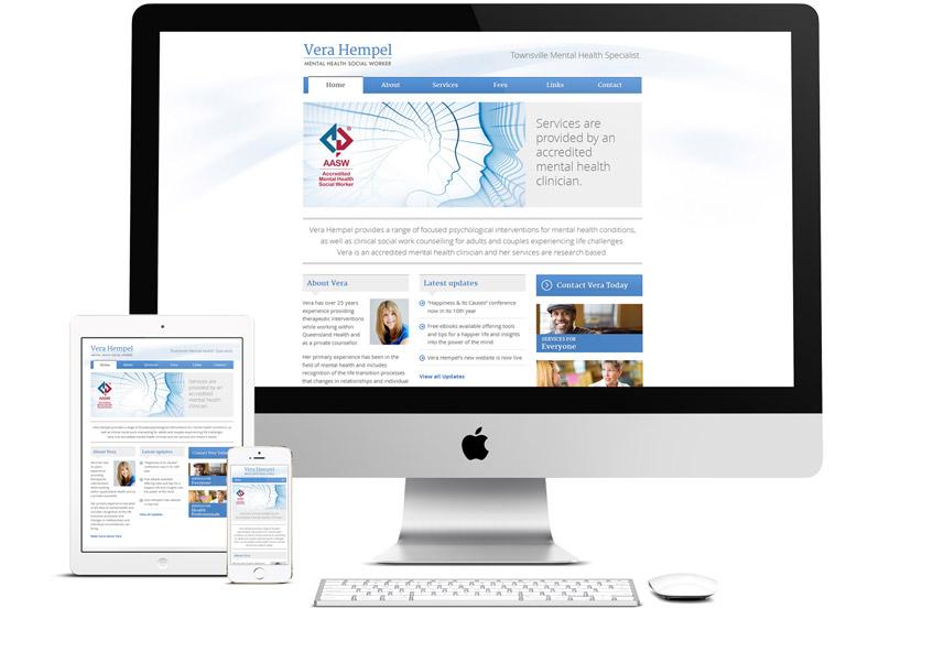 Vera Hempel Responsive Website
