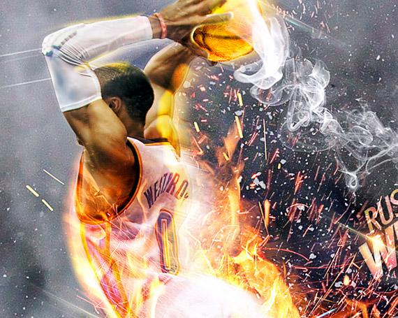 NBA Digital Artwork